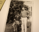 "Cap and his son, my grandfather (""Puppa"")."