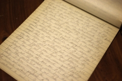 Cap's cursive script was impressive by most standards.