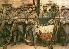 French soldiers in Paris, 1917