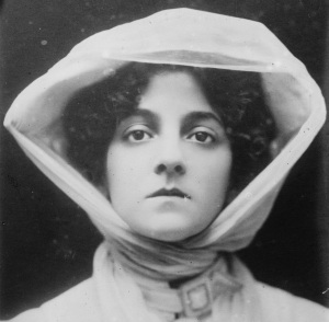 """An American singer, actress, and performer, Elsie Janis was eventually dubbed """"the sweetheart of the AEF."""""""