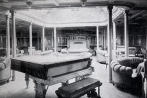 The Agamemnon's First Class Drawing Room.