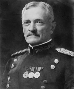 General John J. Pershing, commander of the American Expeditionary Forces.