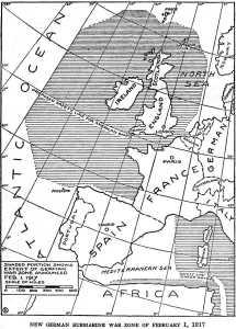 German_Submarine_War_Zone_Announced_1_February_1917