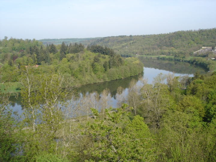 The Moselle River in Liverdun.